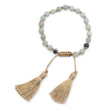 Amazonite Tassel Bracelet
