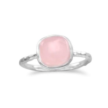 Cushion Cut Rose Quartz