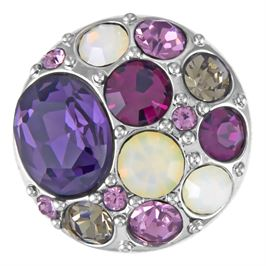 This snap from Ginger Snaps© features an assortment of gems in varying shades of purple