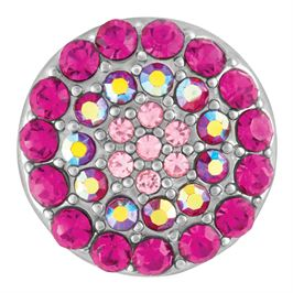 This snap from Ginger Snaps© features concentric circles of pink gems