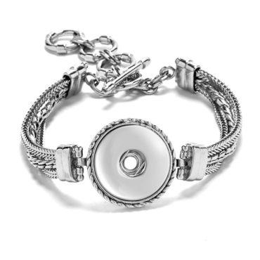 Multi Chain Ginger Snaps Bracelet