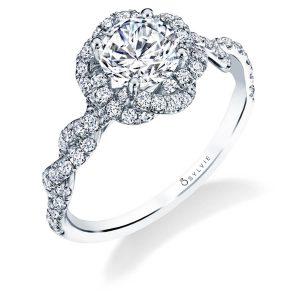 c706a1fd4ea351 Spiral Diamond Engagement Rings. Kourtney · Anaelle